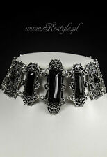 Restyle Vivian Black Occult Gothic Punk Emo Victorian Jewelry Choker Necklace