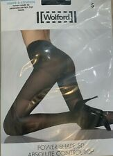 NEW BLACK WOLFORD POWER SHAPE 50 CONTROL TOP SIZE S