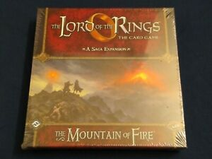Lord of the Rings LCG - The Mountain of Fire Deluxe Saga Expansion - New!
