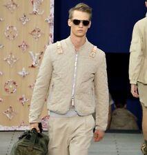 Louis Vuitton 2012 Runway Safari Monogram Quilted Jacket