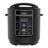 3 Heat Settings Retro Style in Black Swan SF17011BN 1.5L Slow Cooker New
