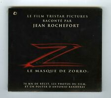 CD (NEW) JEAN ROCHEFORT RACONTE LE MASQUE DE ZORRO