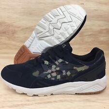 Asics Gel-Kayano Trainer Men's Shoes Black Martini Olive Forest Camo SZ 10