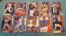 1997 PINNACLE SELECT BASEBALL LOT OF 60 CARDS