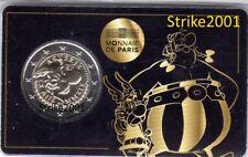 NEW !!! Coin Card 2 EURO COMMEMORATIVO FRANCIA 2019 fdc 60° ASTERIX e Obelix