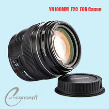 Yongnuo  YN100mm F/2  AF/MF Focus Lens for Canon  EOS 600D 650D 700D