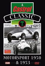Motorsport 1950 & 1953 (New DVD) Goodwood Silverstone Fangio Ascari Parnell