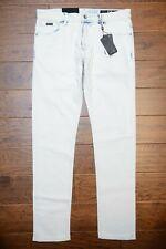 Armani Exchange A X J14 Men's Skinny Fit Stretch Cotton Cream Wash Jeans 33
