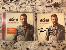 Dierks Bentley Riser Signed Autographed CD Insert with Sealed CD