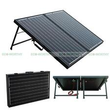 120W 12V Folding Mono Solar Panel & 15A Controller Complete Kit for Camping RV