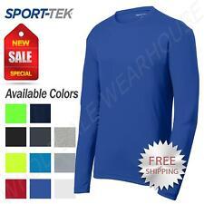 Sport-Tek Men's Dry-Fit RacerMesh Moisture Wicking Long Sleeve T-Shirt ST340LS