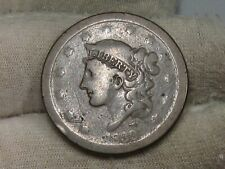 "1839 ""Silly Head"" Large Cent.  #10"