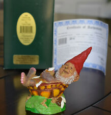 """*Edition #1 Tom Clark Turle Gnome """"She Loves Me"""" with Box & Coa 2001"""