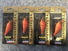 (4) TEAM DAIWA TD CRANKBAIT DEALER BOX TDCS 1060FG12 Red Craw