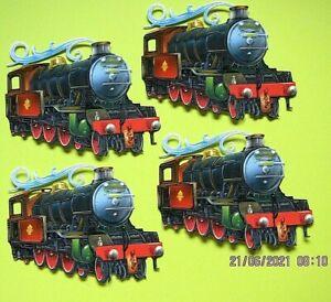 New: 8 x Tattered Lace : Steam Train Charisma Die Cuts