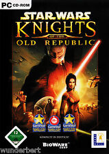 * - Star Wars Knights of the Old Republic-PC juego (2003) 4 Discs + instrucciones