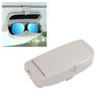 Universal Car sun visor glasses box Sunglasses Card Ticket Holder Clip Grey