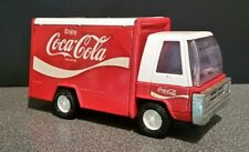 Vintage Buddy L Metal Red/White Coca Cola Delivery Truck 1970`S