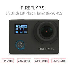 UK STOCK Firefly 7S 12MP 4K WIFI Waterproof FPV Action Camera HD Camera Recorder