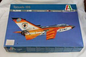 MAQUETTE AVION 1/48 ITALERI 2648 TORNADO IDS  MODEL KIT
