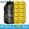 Mitre Impel - 10 Yellow Training Footballs Plus FREE Mesh Bag - New 2018 Design