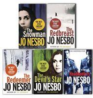 Jo Nesbo Harry Hole 5 Books Collection