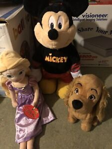 """Mickey Mouse 18"""" Fisher Price Interactive Disney & Exclusive Rapzunel 20 Tangled"""