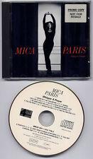 MICA PARIS Whisper A Prayer 1993 UK 12-track promo CD Narada Michael Walden