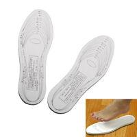 1Pair Unisex Womens Mens Insoles Shoe Cushion Antibacterial Memory Foam Shoe Pad