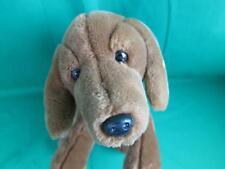 ANIMAL ALLEY BROWN WEINER DOG DASCHUND FLOPPY PLUSH STUFFED ANIMAL PUPPY