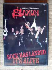 Oliver/Dawson Saxon ‎– Rock Has Landed- It's Alive - DVD A-2