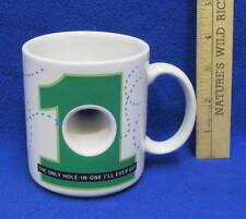 Gulf Mug Only Hole In One I'll Ever Get Coffee Cup Golfer Gag Gift Humorous