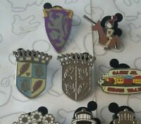 Fantasyland Icons Collection 2012 Hidden Mickey Set DLR Choose a Disney Pin