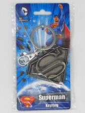 DC Comics SUPERMAN Pewter Key Ring Keychain Charm