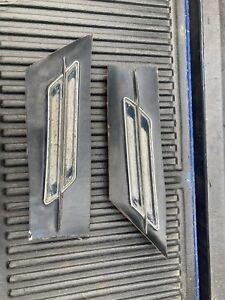 1966 Oldsmobile 442 fender scoop cutouts 66 Olds