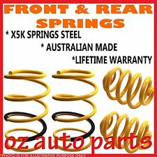 TOYOTA CORONA RT142 SEDAN IRS 11/1985-1987 FRONT & REAR STANDARD HEIGHT SPRINGS