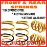 HOLDEN APOLLO JK JL WAGON 1991-1993 FRONT & REAR STANDARD HEIGHT SPRINGS