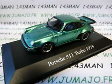 CH10T : Voitures Mythiques Atlas IXO Chapatte : PORSCHE 911 Turbo 1975
