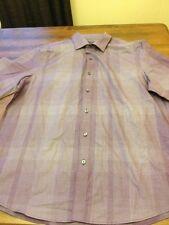 Claiborne   Men's  Dress  Cotton   Shirt     Size  L
