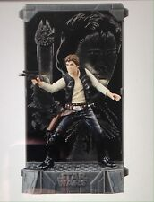 Star Wars Han Solo 40th Anniversary Titanium Die Cast Black Series Figure