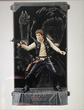 Star Wars Han Solo 40th Anniversary Titanium Die Cast Black Series Figure