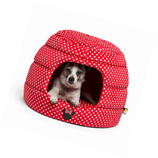 Disney Minnie Mouse 2-in-1 Honeycomb Hut Pet Cuddler Dog Bed/ Cat Bed NEW