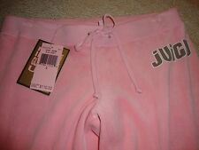 GORGEOUS NEW PASTEL PINK VELOUR JUICY COUTURE SWEATS/TRACK PANTS (NWT)