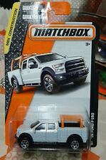 MATCHBOX White '15 FORD F-150 4-DOOR CONSTRUCTION CONTRACTOR'S 26/120