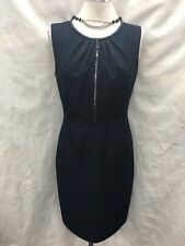 "ELLIE TAHARI DRESS/NEW WITH TAG/SIZE 10/RETAIL$139/LENGTH 39""/DENIM LOOK"