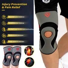 Neoprene Knee Sleeve Compression Brace Support For Sport Joint Pain Arthritis OB