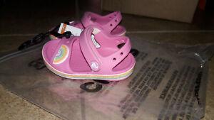 NEW Kids Crocs Crocband Imagination Sandals Shoes, size c7