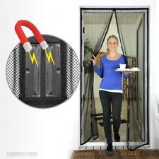 Lamellen Magnetvorhang Insektenschutz Tür 100 x 210 cm Fliengitter