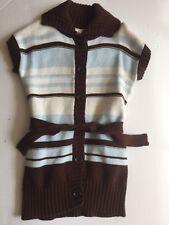 Gymboree GIRLS BEST FRIEND sweater 5 6 Long Sweater Duster Cardigan Belted Sprin