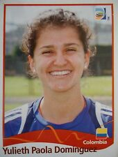Panini 227 Yulieth Paola Dominguez Colombia FIFA Women's WM 2011 Germany
